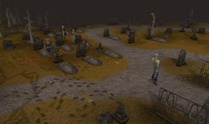 Graveyard of Shadows old