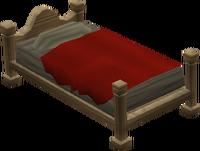 Oak bed built