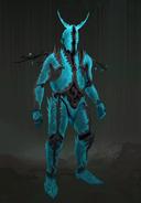 Crystalline armour concept art