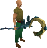 Polypore staff (degraded) equipped
