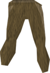 Wood camo legs detail
