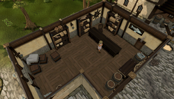Gerrant's Fishy Business interior