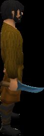 Rune dagger equipped