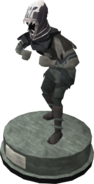 Wildstalker helmet (tier 3) statue