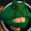 Frog mask chathead