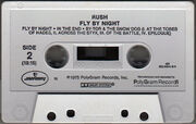 Fly by Night, Mercury 822 542-4cassette2