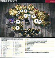 Drum Workshop Collector's Series aztec red lacquersetup