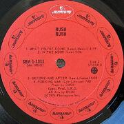 Rush, Mercury SRM-1-1011 Canadalabelside2