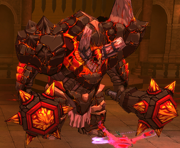 Magma Golem by Wildforge on DeviantArt
