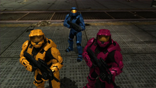 Grif, Simmons, & Caboose