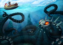 Kraken grimm by theroguespider