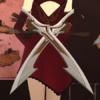 Cinder's weapon metal