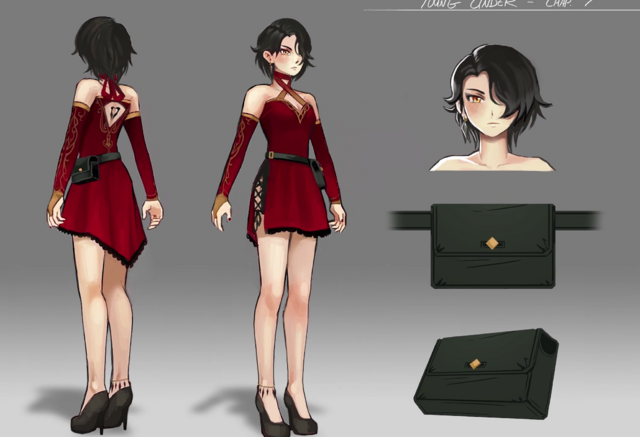 Rwby Volume 4 Se Estrenara 22 Octubre as well Drawing Referances as well Rwby Cinder Fall Young besides VGEsMev3 Rwby Ch ion Concepts together with MMDxRWBY Ruby Rose Timeskip Vol 4 620458998. on rwby character designs vol 4
