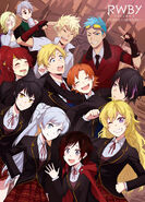 RWBy Volume 3 Limited Edition Japanese released DVD