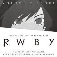 RWBY Volume 2 Score Cover