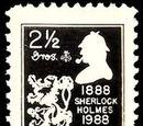 Sherlock-Holmes-Briefmarken