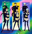 Sailor Starlights and the Three Lights