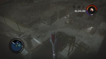 Hangman's Wharf from the air