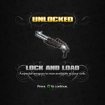 Saints Row unlockable - Weapons - Lock and Load - Platinum AS12 Riot