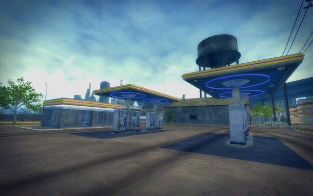 File:Truck Yard in Saints Row 2 - Gas Station.jpg