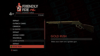 Weapon - Special - Sniper Rifle - Lever-Action - Gold Rush