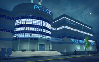 Harrowgate in Saints Row 2 - Stilwater Police Dept