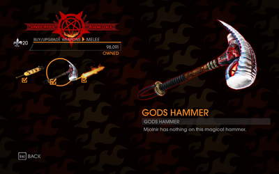 Gat out of Hell - Gods Hammer