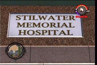 Stilwater Memorial Hospital sign
