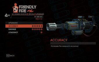 Heavy Minigun Upgrades