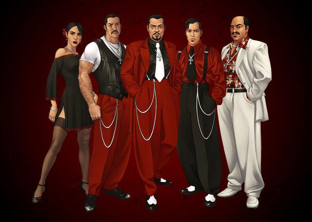 File:Los Carnales Promo with Luz Avalos, Victor Rodriguez, Hector Lopez, Angelo Lopez, Manuel Orejuela.jpg