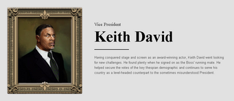Saints Row website - People - The Cabinet - Keith David