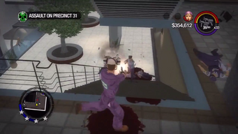 Assault on Precinct 31 - Defending Shaundi