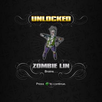 Saints Row unlockable - Homies - Zombie Lin