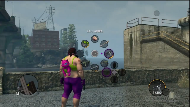 File:KA-1 Kobra in a Saints Row The Third gameplay preview.png