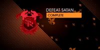 Defeat Satan