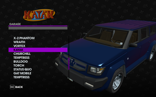File:Kayak in the Garage in Saints Row The Third.png