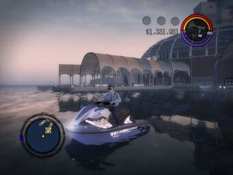 Shark - Police variant - front left in Saints Row 2