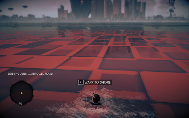 File:Alien controlled hood north of Steelport in Saints Row IV.png