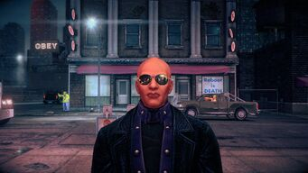 Benjamin King - face in Saints Row IV