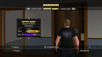 GameStop T-Shirt - back
