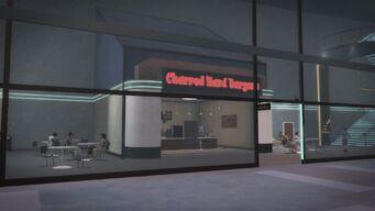 Charred Hard Burgers in Humbolt Park - exterior