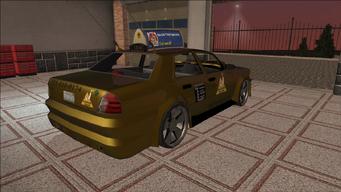 Saints Row variants - Taxi - Eagle B - rear right