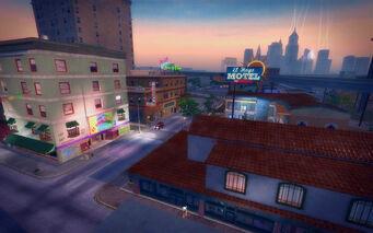 Ezpata in Saints Row 2 - El Hoyo motel