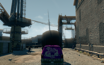 Gat Mobile - rear in Saints Row The Third