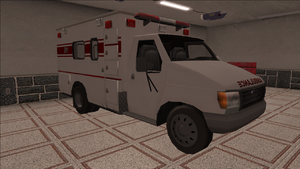 Saints Row variants - Ambulance - front right