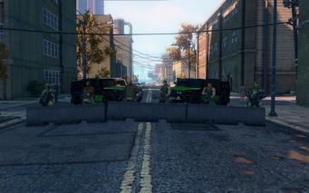 SRTT Roadblock - Luchadores level 4 - small