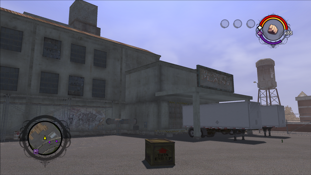 File:Drug Factory front exterior from the north west in Saints Row.png