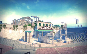 Amberbrook in Saints Row 2 - Thalia Ampitheatre