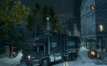 Steelport Municipal - front left with lights in Saints Row The Third
