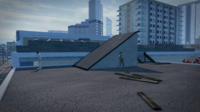File:Charred Hard Burgers - Stilwater Boardwalk rooftop.jpg